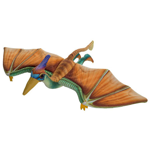 Pterosaur printed soft toy
