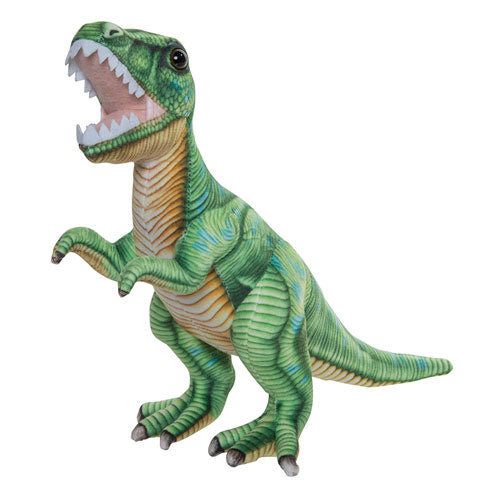 T-Rex printed soft toy
