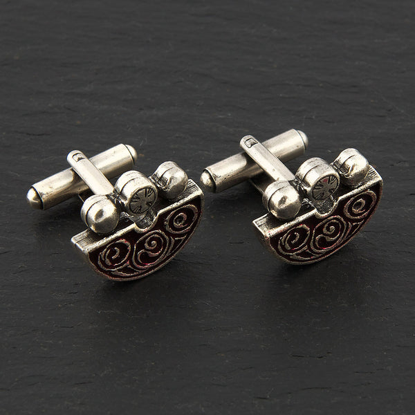 Norrie's Law Pin Cufflinks