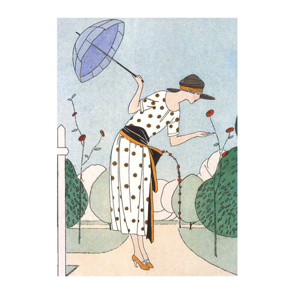Parasol Greetings Card