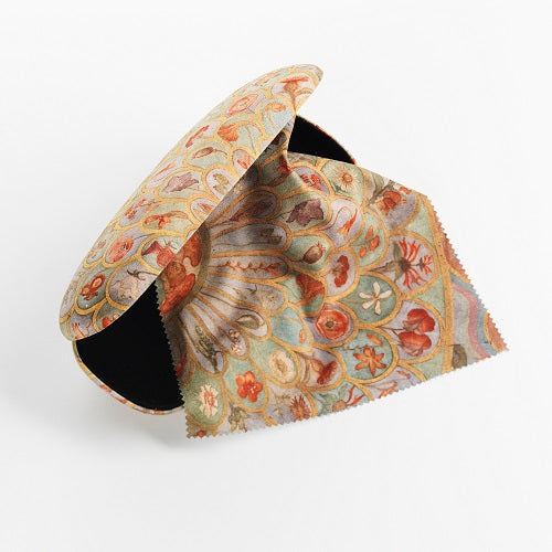 Phoebe Anna Traquair glasses case and cloth