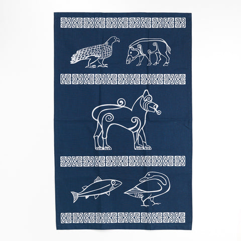 Pictish Animals Tea Towel