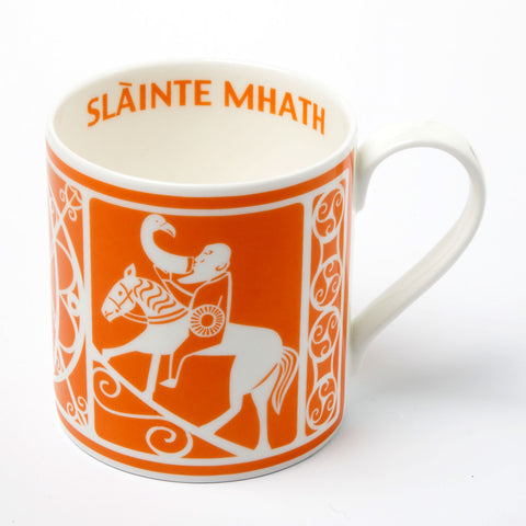 Pictish Man Orange Mug