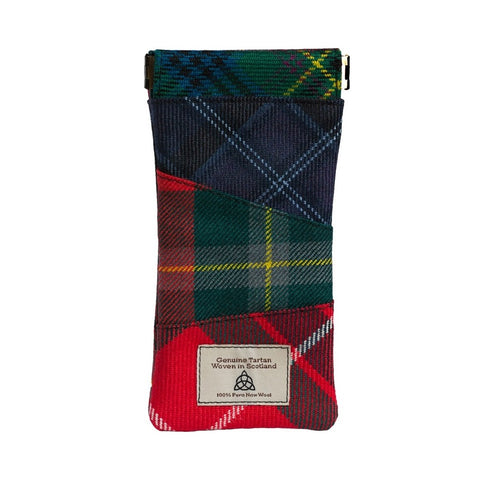 Quirky Tartan glasses case