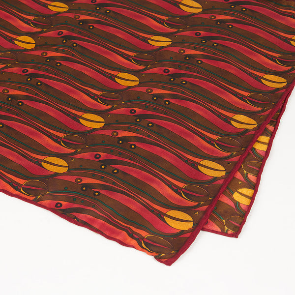 Rennie Mackintosh Tulips Silk Scarf