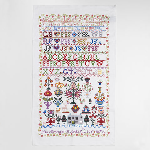 Scottish Sampler Tea Towel