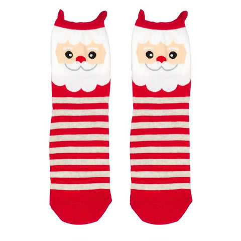 Stripy Santa Socks