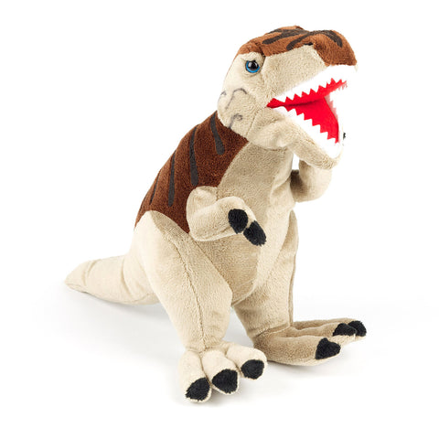 Brown T.Rex Soft Toy