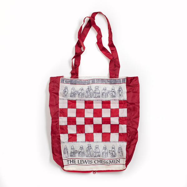 Lewis Chessmen folding shopper bag