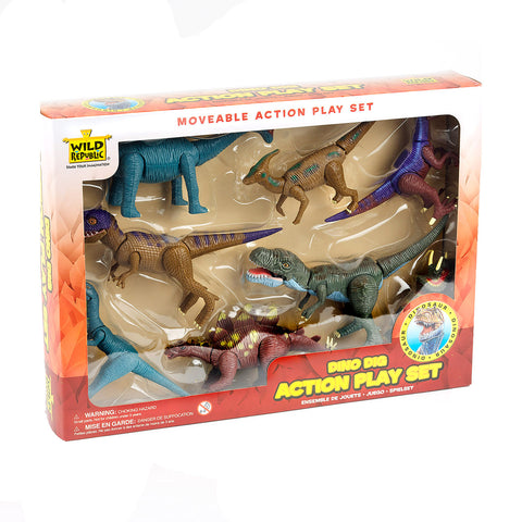 Dinosaur Action Play Set