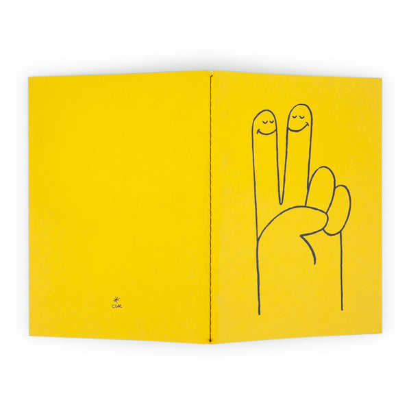 Peace Hand Notebook