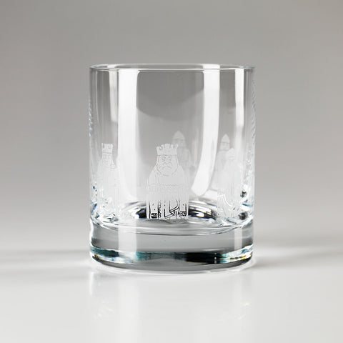 Lewis Chessmen Crystal Tumbler