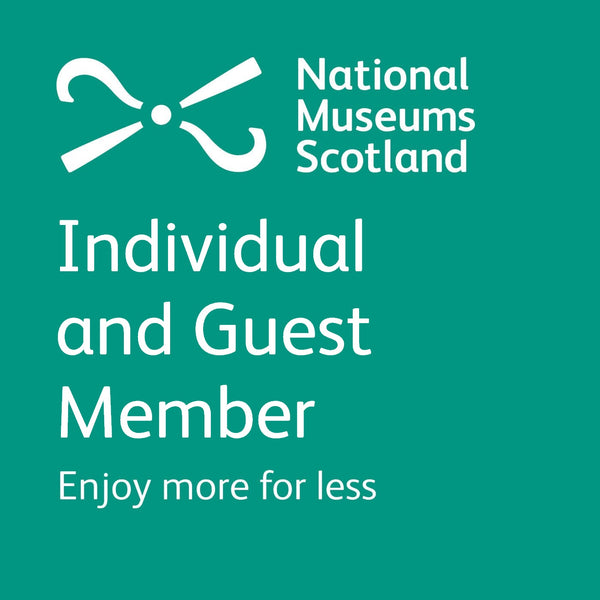 National Museums Scotland Gift Membership : Individual and Guest