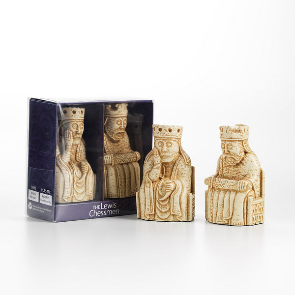 Lewis Chessmen King and Queen gift pack