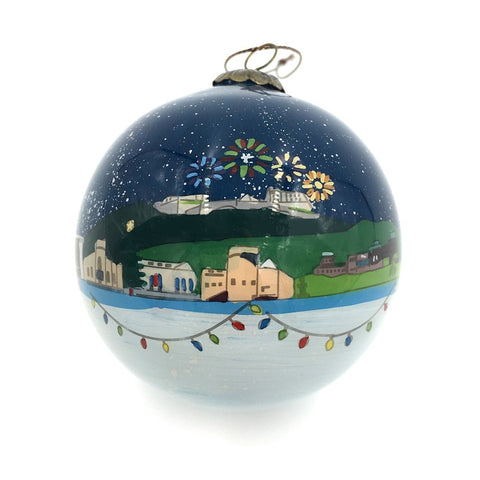 Edinburgh Glass Bauble