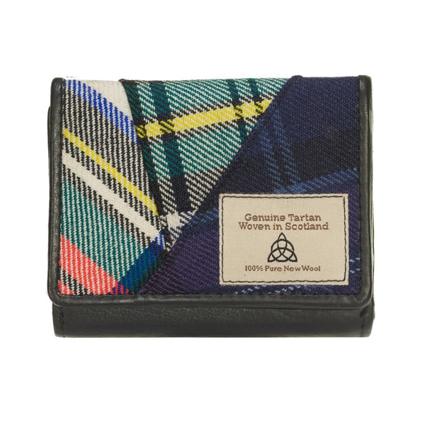 Quirky Tartan wallet thick