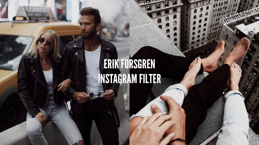 How to create the Erik Forsgren Filter for your Instagram Pictures