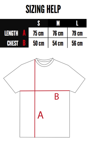 Sizing Help The Cartwheel Project Stranger T-Shirt