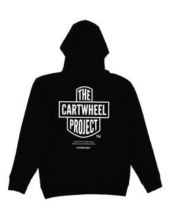 Road Hoodie Black - The Cartwheel Project