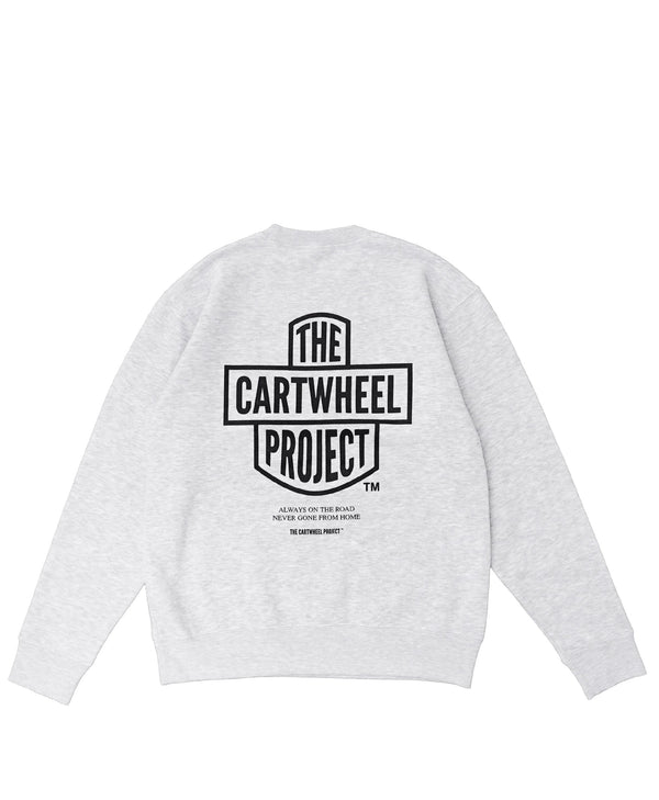 Road Sweatshirt Grey - The Cartwheel Project