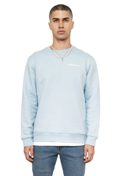 Logo Sweatshirt Ice Blue - The Cartwheel Project