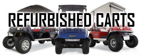 Refurbished Golf Car Inventory