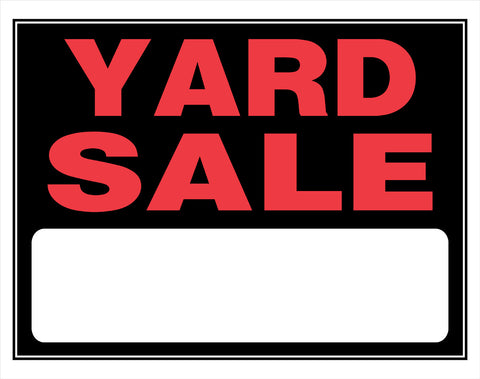 YARD SALE BARGINS