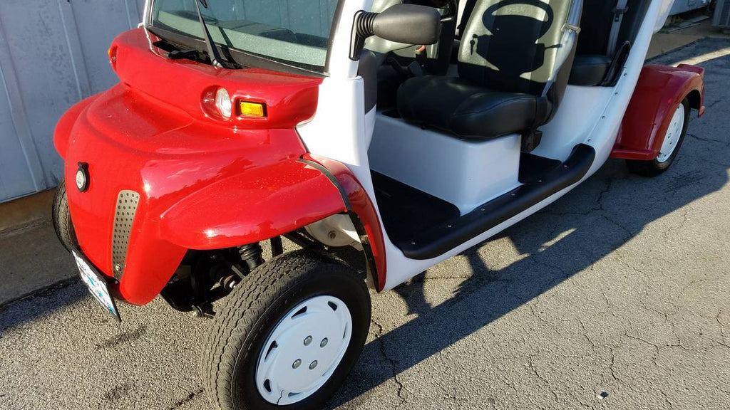 GEM CAR E4 72V (RED/WHITE) – Augusta Golf Cars LLC
