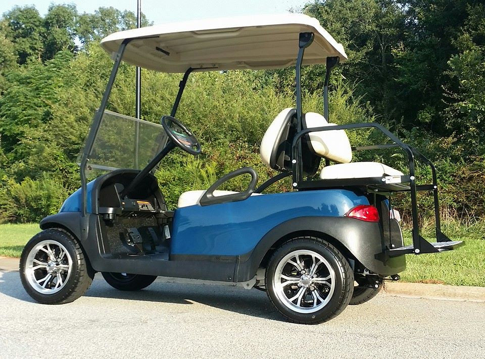 CLUB CAR PRECEDENT REFURB (ATLANTIC BLUE)