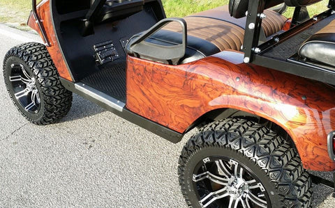 E-Z-GO TXT GAS REFURB (WOODGRAIN - LIFTED)
