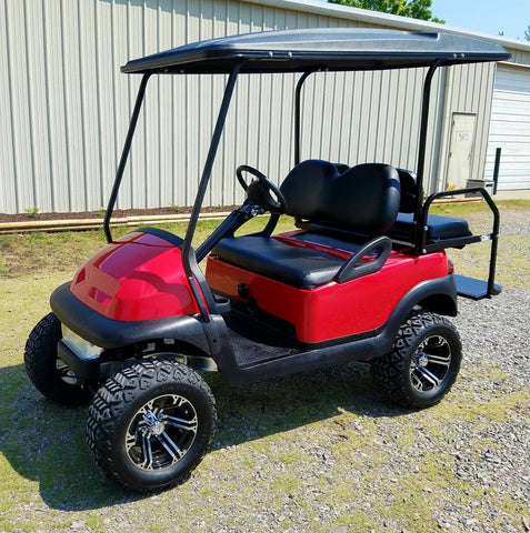 CLUB CAR PRECEDENT REFURB (RED-LIFTED)