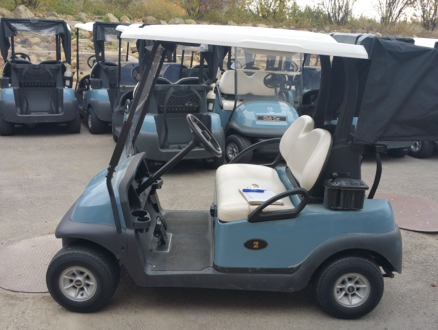2012 CLUB CAR PRECEDENT 48V ELECTRIC GOLF CAR (IN-BOUND)