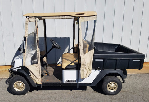 2012 CUSHMAN HAULER 1000 48V ELECTRIC
