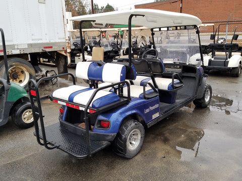 2014 EZGO SHUTTLE 6 13HP GAS PERSONAL TRANSPORT VEHICLE