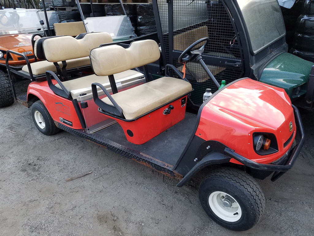2014 CUSHMAN SHUTTLE 6 GAS 13HP PERSONAL TRANSPORT VEHICLE