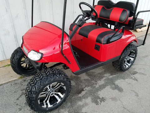 E-Z-GO TXT 48V REFURB (FLAME RED)