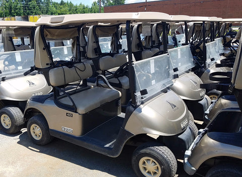 2014 EZGO RXV 48V ELECTRIC FLEET CAR