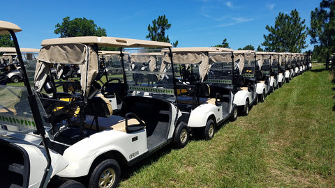 2013 EZGO TXT 48V ELECTRIC FLEET CAR