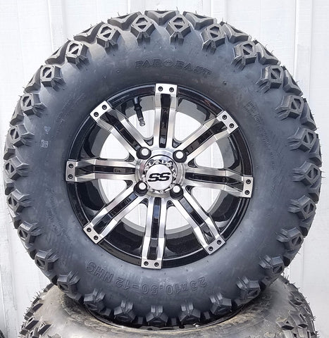 "AGC 12"" JUDGE OFFROAD -- MACHINED/BLACK"