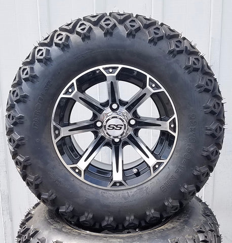 "AGC 12"" JOKER OFFROAD -- MACHINED/BLACK"