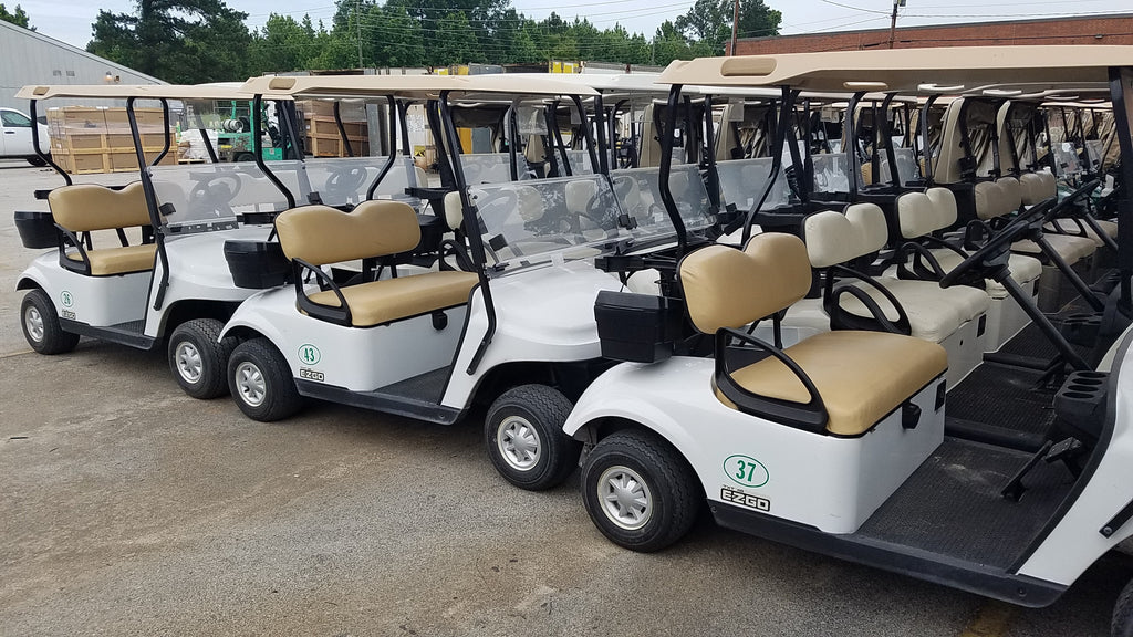2016 EZGO TXT 48V ELECTRIC FLEET CAR