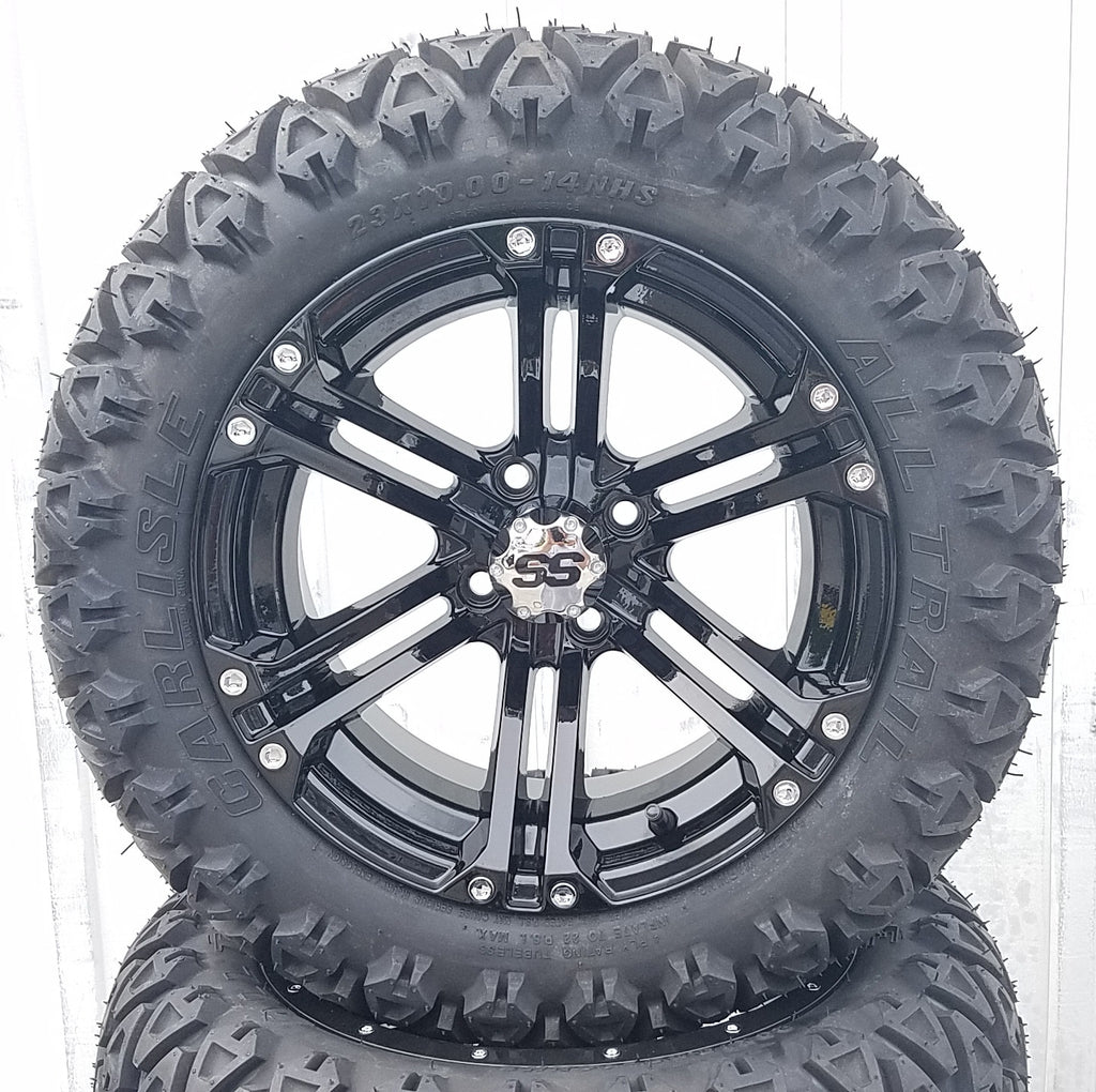 "AGC 14"" SPLIT SIX OFFROAD - GLOSS BLACK"