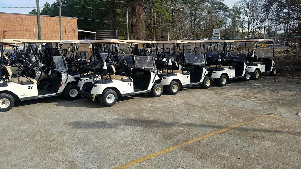 2003 EZGO TXT 36V ELECTRIC FLEET CAR (GRAYSON VALLEY)