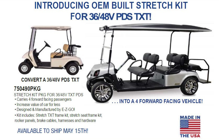 E-Z-GO TXT Electric Stretch Kit (Call For Pricing)