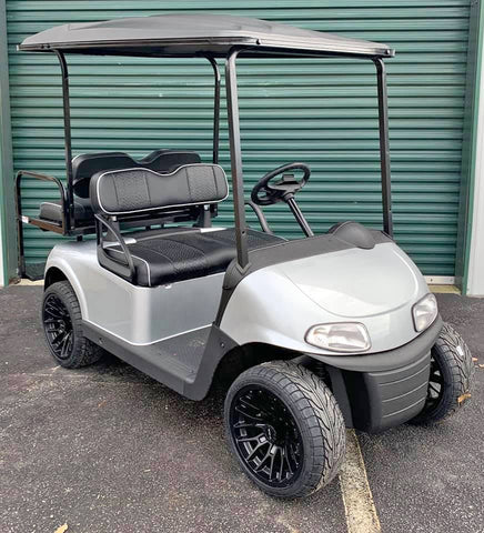 SILVER EZGO RXV 48V GOLF CART - Call Holly 706-910-6055