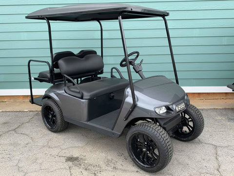 CHARCOAL GRAY EZGO TXT 48V GOLF CART - Call Holly 706-910-6055