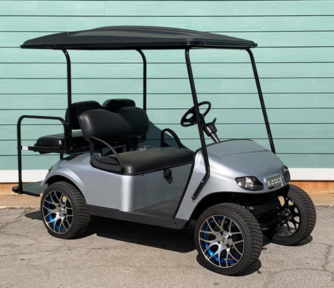 SILVER EZGO TXT 48V GOLF CART - Call Holly 706-910-6055