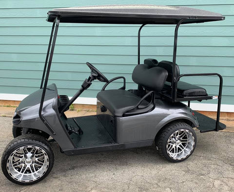 GRAY EZGO TXT 48V GOLF CART - Call Holly 706-910-6055