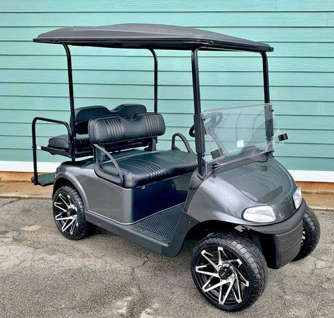 GRAY EZGO RXV 48V GOLF CART - Call Holly 706-910-6055