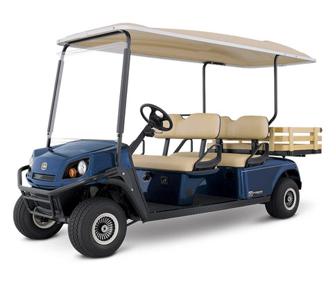 CUSHMAN SHUTTLE 4 (GAS/ELECTRIC)